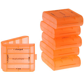 AA / AAA Battery Storage Hard Case Boxes