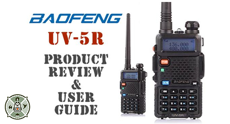 Baofeng UV-5R Review & Guide | Bug Out Bag Builder
