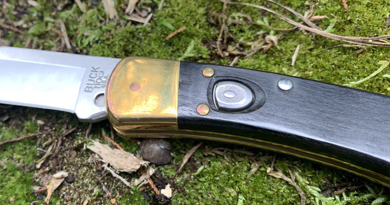 Buck 110 Automatic Lockback Knife Review 2