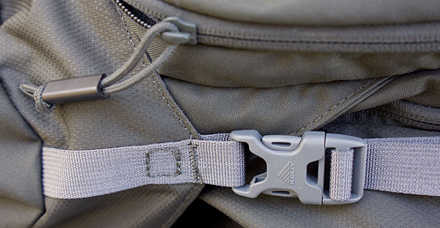 Kelty Coyote 80 Zippers & Clips