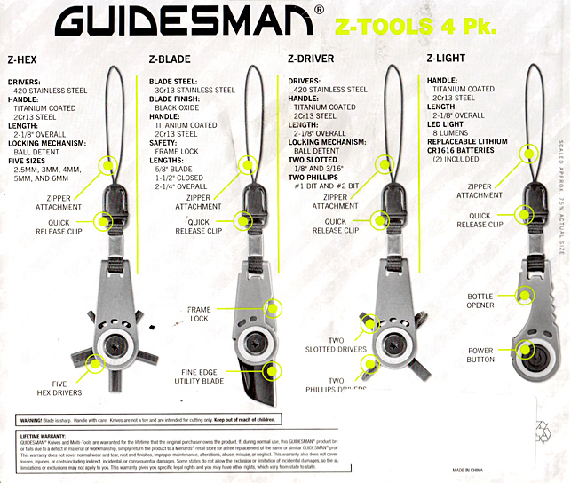 Guidesman Z-Tools Z-Blade