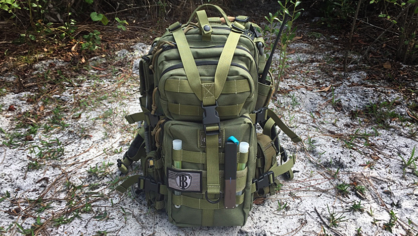 Maxpedition Falcon-II Backpack Front Closeup