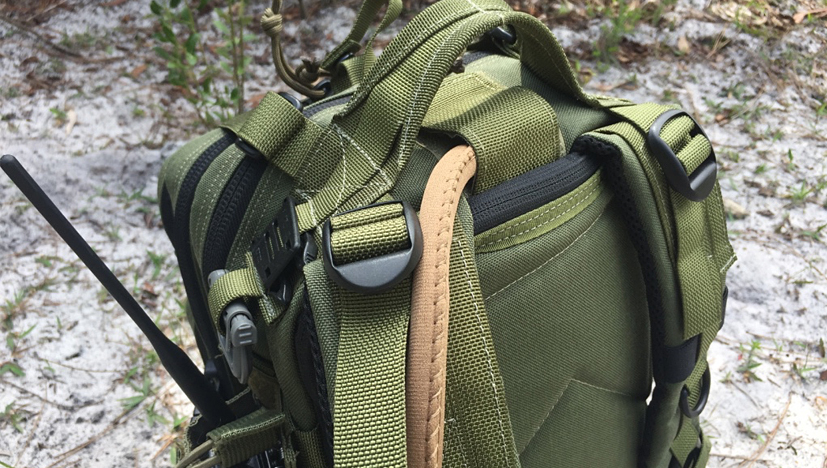 Maxpedition Falcon-II Backpack hydration pass thru