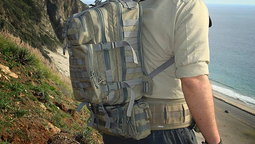Maxpedition Falcon-II Backpack On A Dude