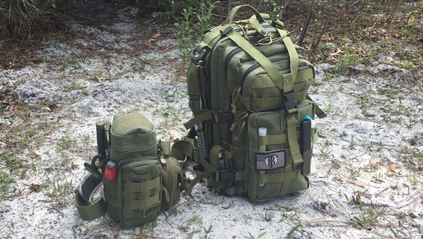 Maxpedition Falcon-II Backpack with Bottle Holder