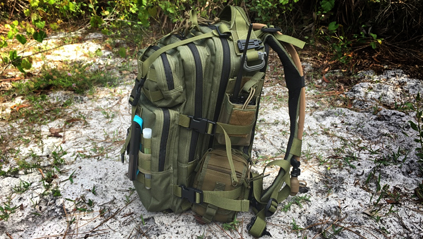 Maxpedition Falcon-II Backpack side view