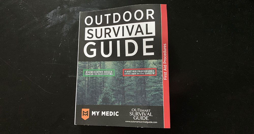 My Medic First Aid Outdoor Survival Guide