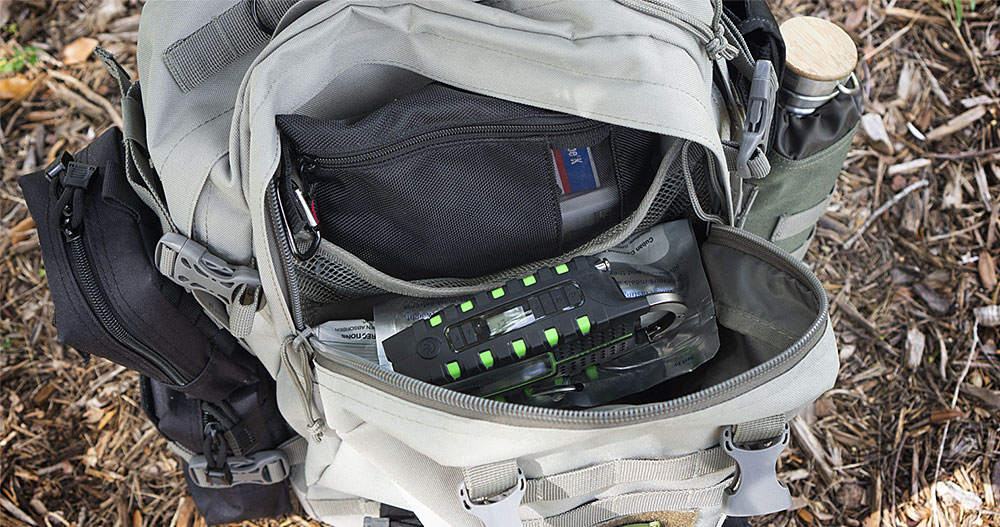 Paratus 3-Day Operators Pack Top Pocket