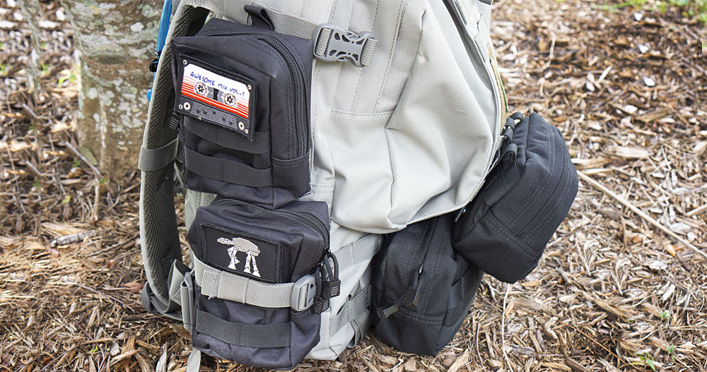 Paratus 3-Day Operators Pack with pouches on side