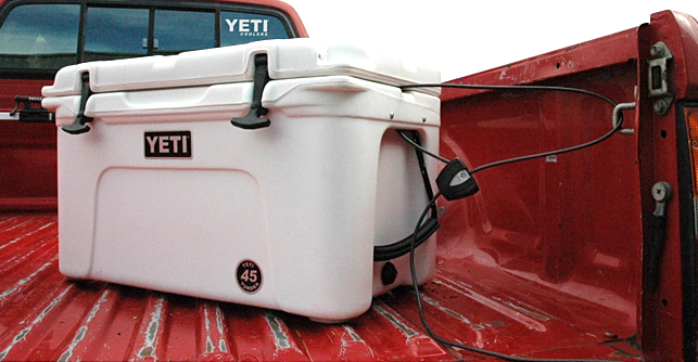 Prepare for a power outage with a Yeti Cooler