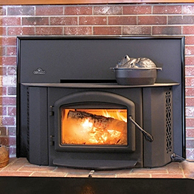 Prepare for a power outage with a fireplace insert