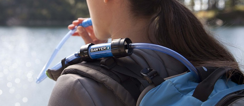 Sawyer Mini Water Filter Closeup