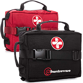Surviveware First Aid Kit Survival Kit