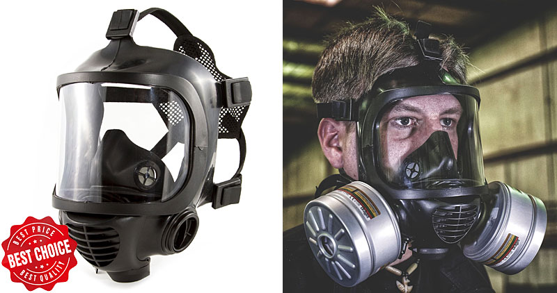 Mira Safety CM-6M Gas Mask Purchase Button