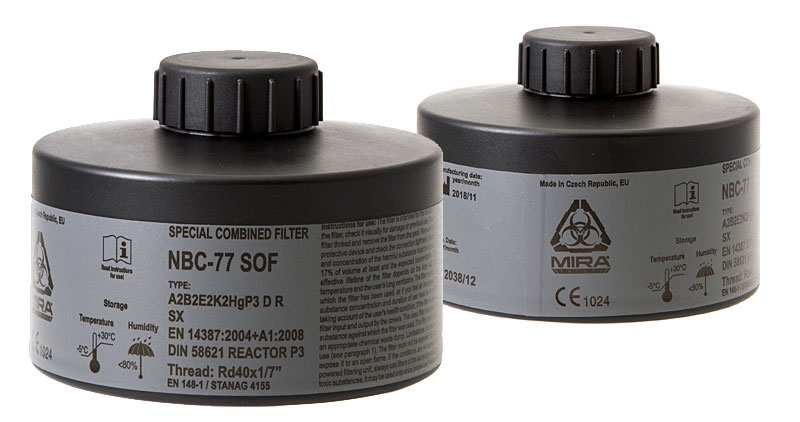 MIRA CBRN Gas Mask Filter NBC-77