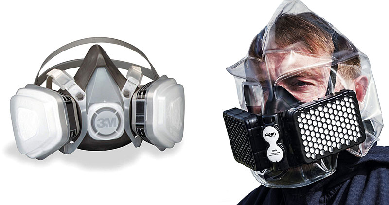 Respirators and escape hoods