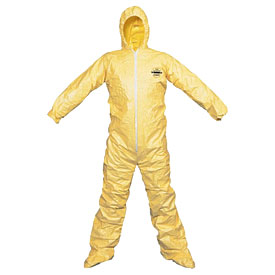 Dupont QC127 X-Large Yellow Tychem QC Chemical Protection Coveralls