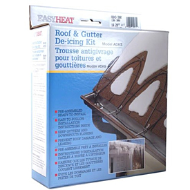 Prepare for Winter Storms with a Roof De-Icing Kit