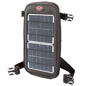 Fuse solar charger