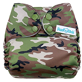 Mama Koala Camo Cloth Diaper