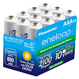 Prepare for a power outage with eneloop batteries