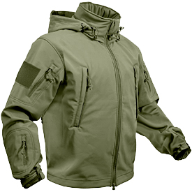 Prepare for winter storms with a Rothco Special Ops Jacket