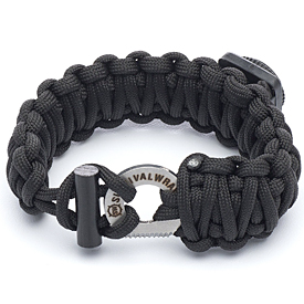 Survival Wraps Emergency Paracord Bracelet