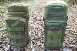 Maxpedition vs. Condor H2O Pouches