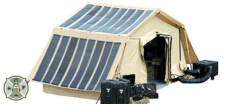 Portable Power Solar Tent