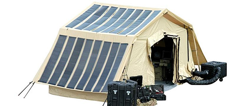 Bug Out Power Solar Tent