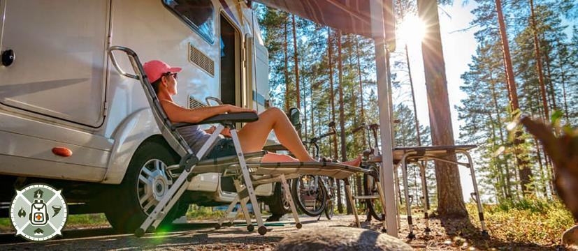 Living off-grid in a motorhome