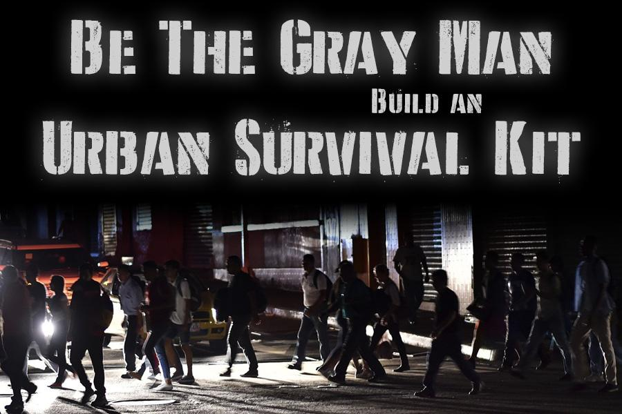 The Gray Man Urban Survival Kit