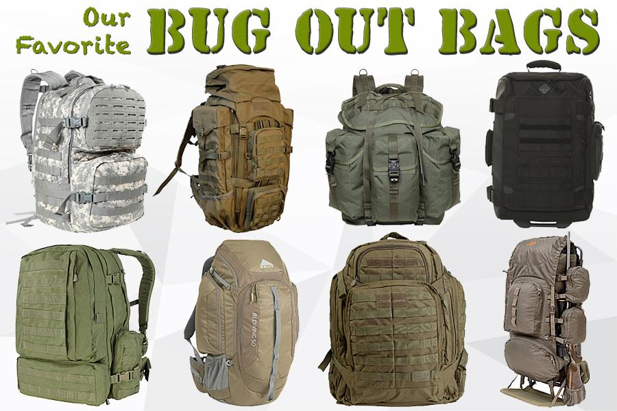 Our Favorite Bug Out Bags