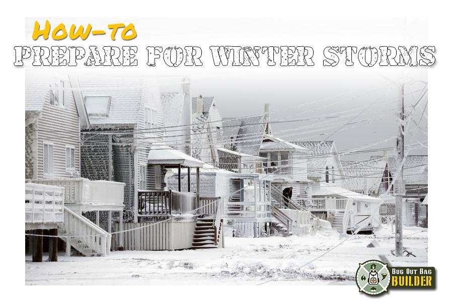 Prepare for Winter Storms!