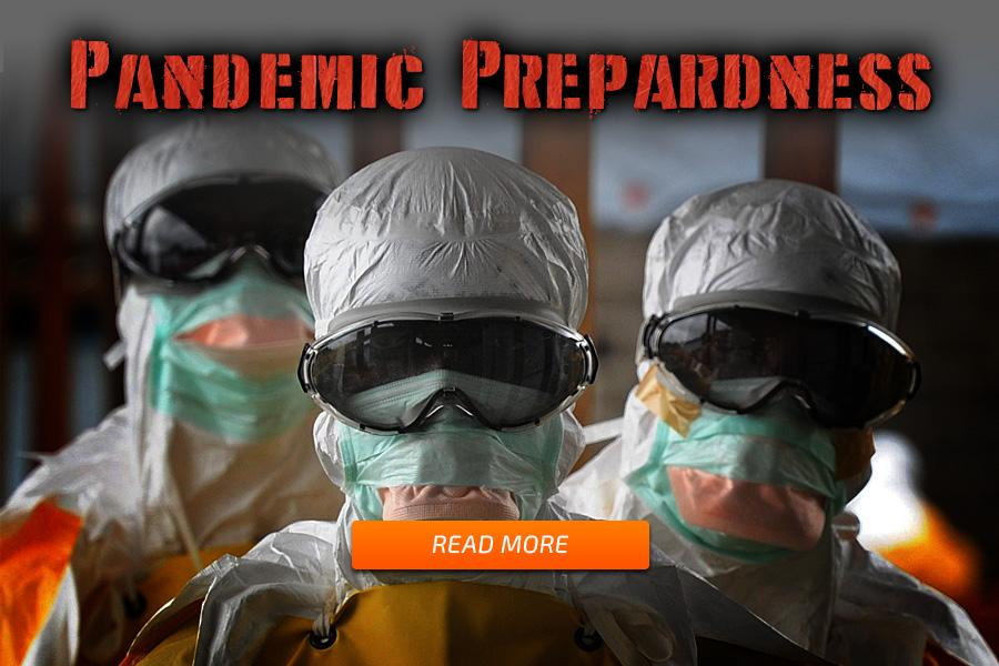 How to prepare for pandemics